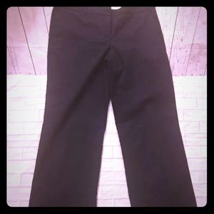 J Crew cityfit stretch career pants. Navy. Size 8R